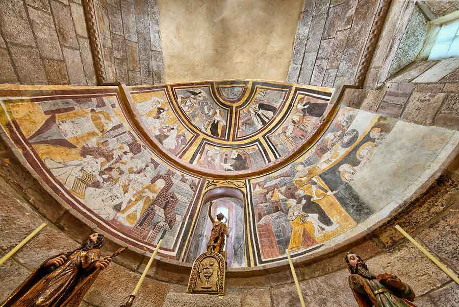 Pinturas de la iglesia de Mata de Hoz