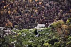 Cabaña del Portillo, Alto Híjar. Campoo devanado. Tajelar.
