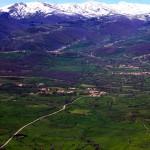 Vista panorámica de Celada, Naveda, Proaño.