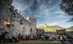 Patio del Castillo de Argüeso