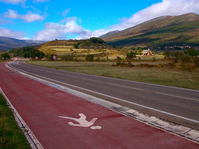 Carril Peatonal Nestares – La Lomba