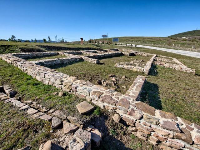 Domus Romana/Yacimiento Arqueológico de Julióbriga. Retortillo.