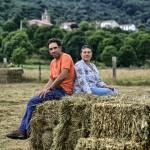 Cote y Almudena, dos grandes voces campurrianas. Campoo devanado. Maner.