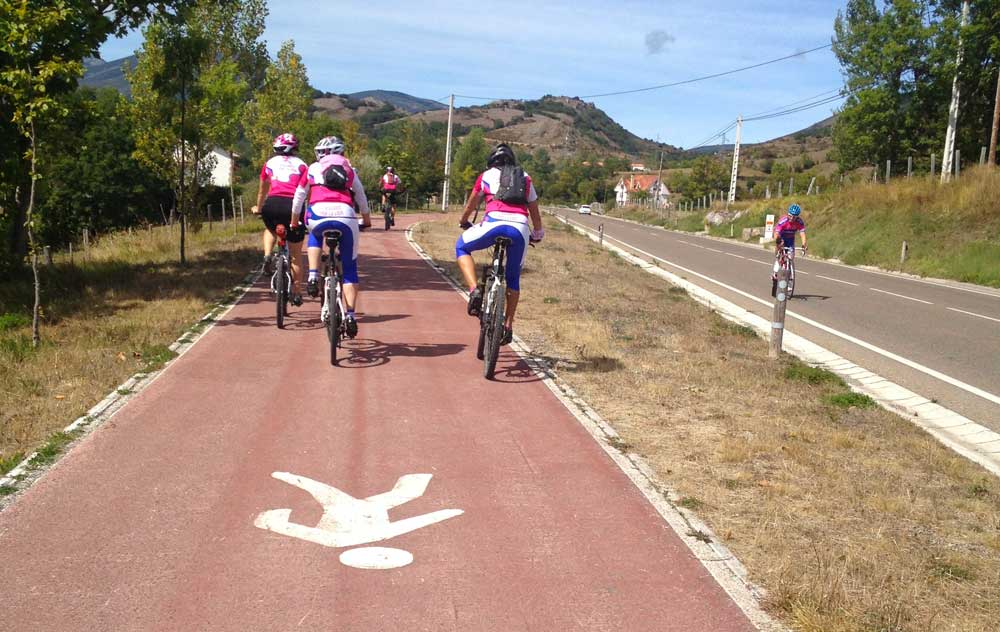 Carril bici Reinosa - La Lomba