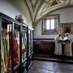 Sacristía del Santuario de Nuestra Señora de Montesclaros. Pandear. Campoo devanado.