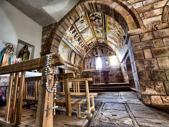 Las pinturas murales góticas de Valdeolea. S.XV