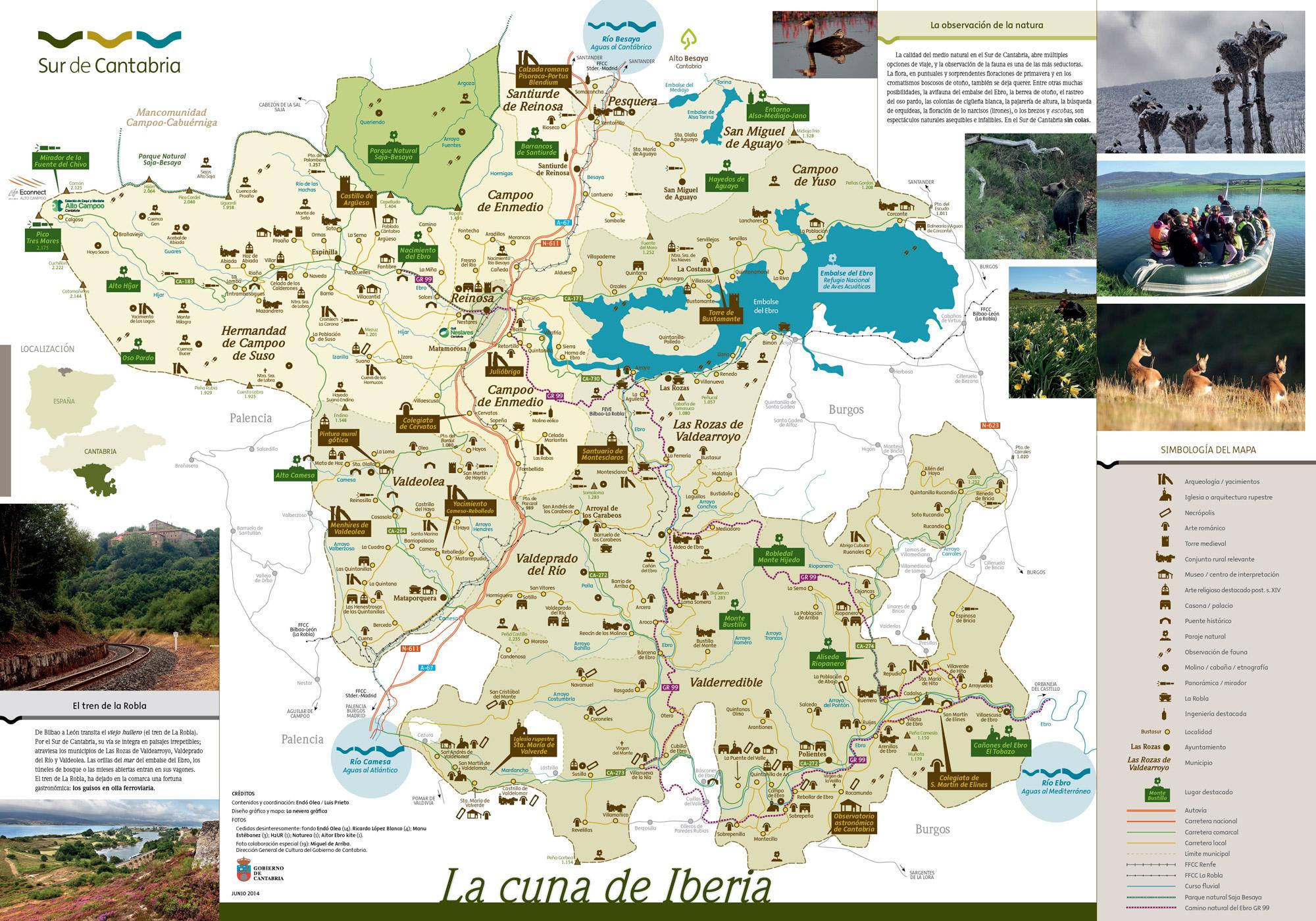 MapaSurDeCantabria