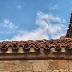Canecillo de la tortuga en Villamoñico