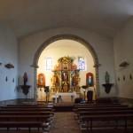 Interior Iglesia Santiurde