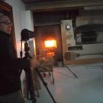Miguel de Arribas fotografiando una panadería campurriana.