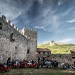 Rabelistas en el Castillo de Argüeso