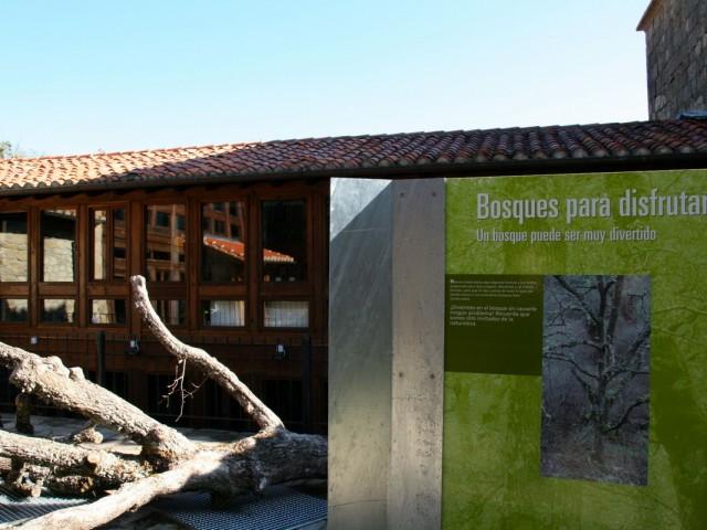 Centro de visitantes del Monte Hijedo. Riopanero.