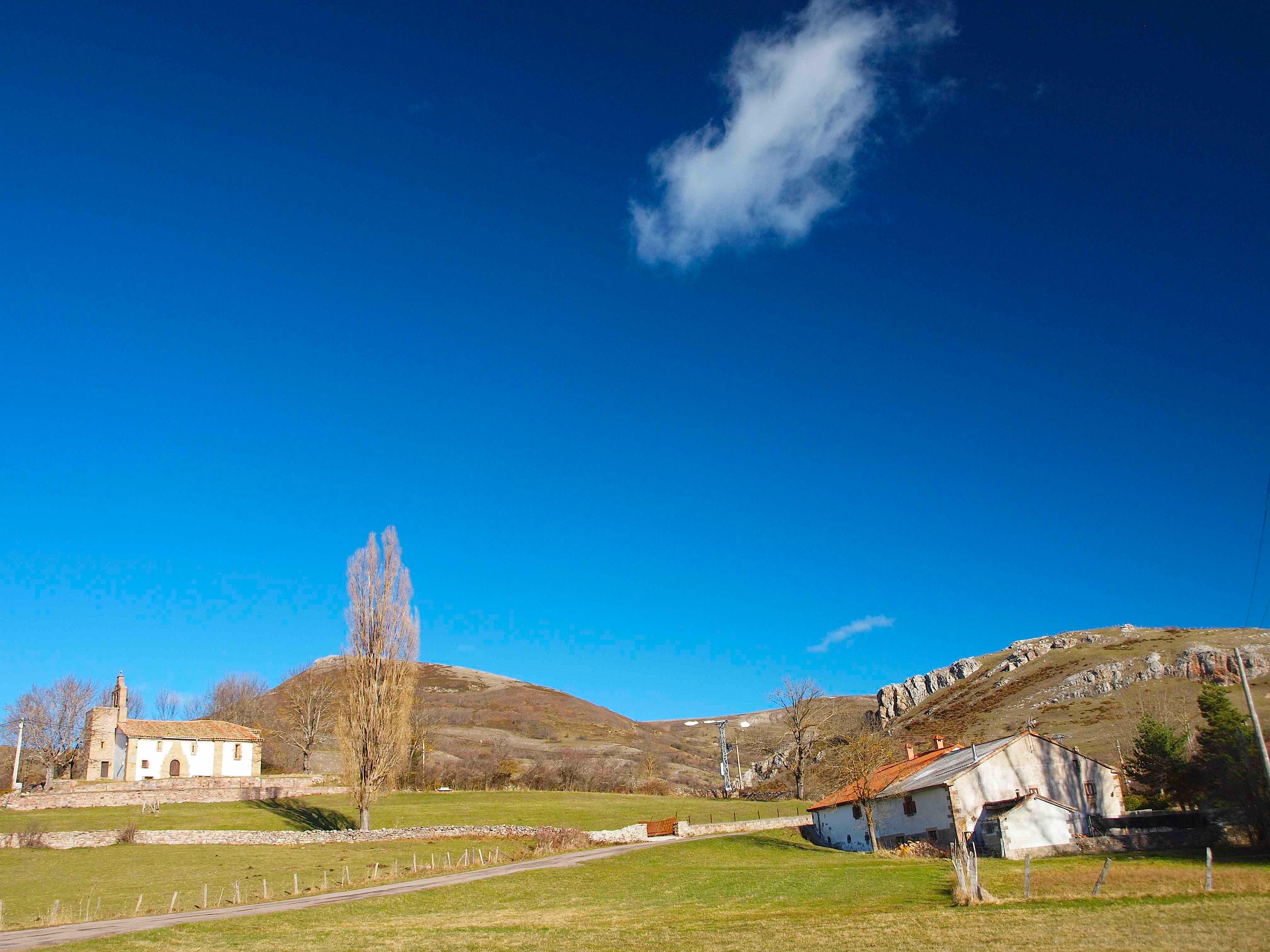 Panorámica Iglesia de Serna
