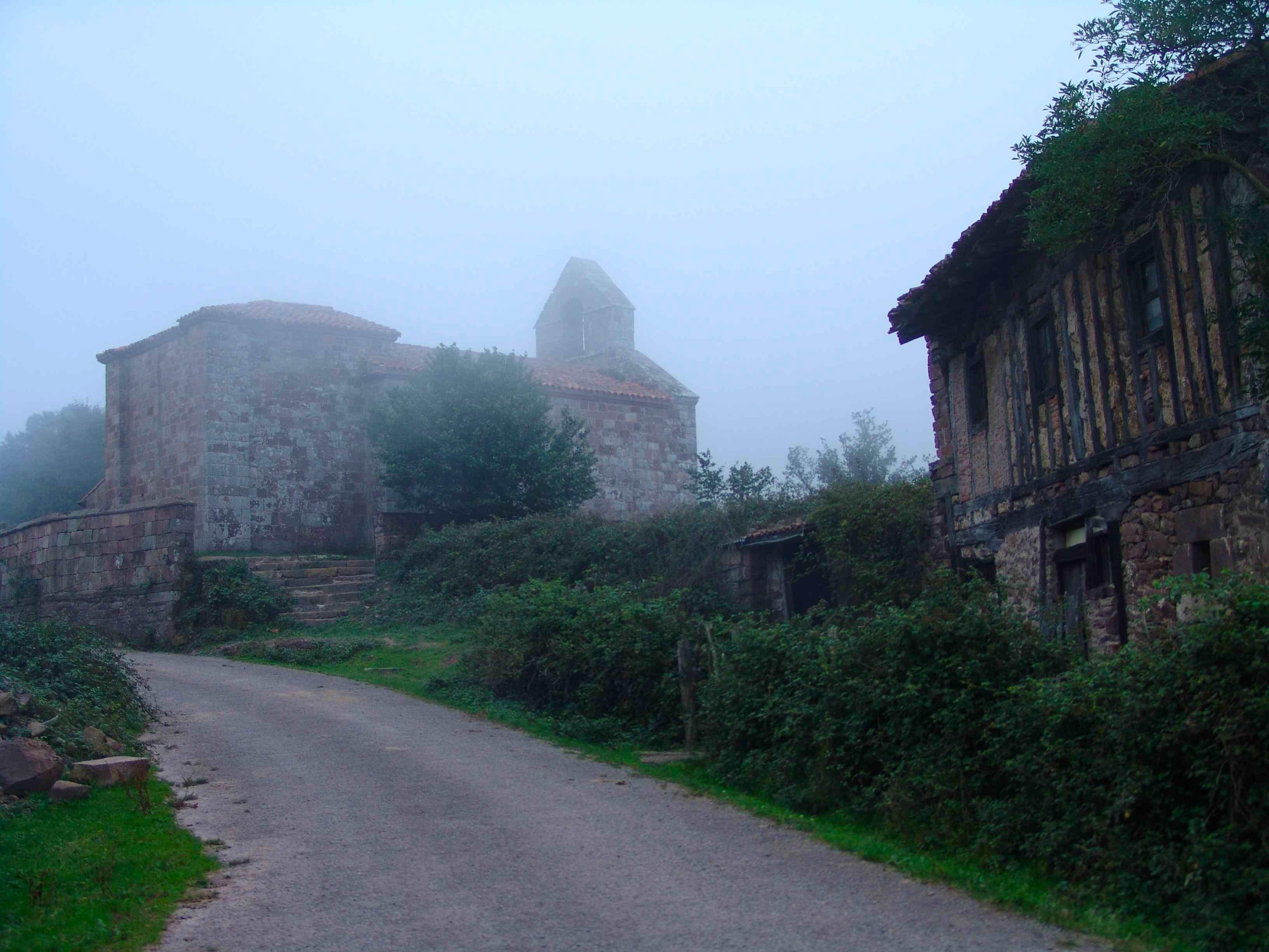 Vista iglesia de Somaconcha