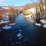 Río Ebro a su paso por Campo de Ebro