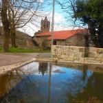 Iglesia de Fombellida desde la plaza