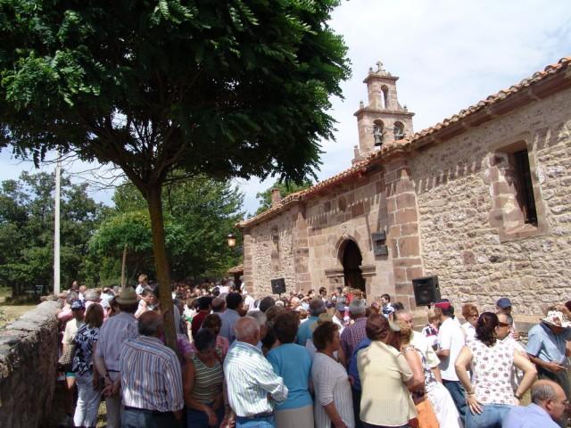 Celada de Los Calderones. Fiesta de Nstra Sª de Las Nieves. 5 de Agosto.