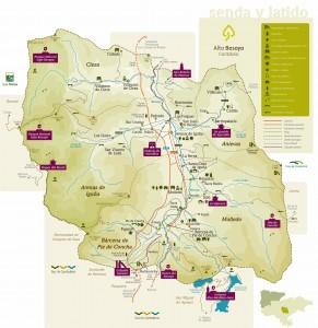 Mapa Alto Besaya