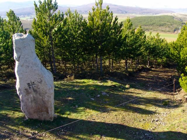 Megalitismo Menhires de Valdeolea