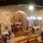 Interior de la iglesia de Otero del Monte