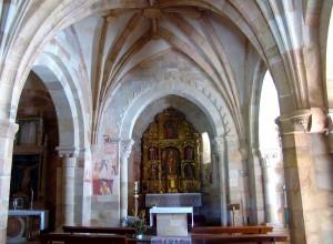 Iglesia de Santa Maria de Las Henestrosas. Interior.